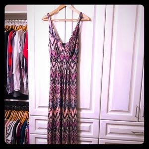 Loveappella maxi dress - multi color - stunning !!
